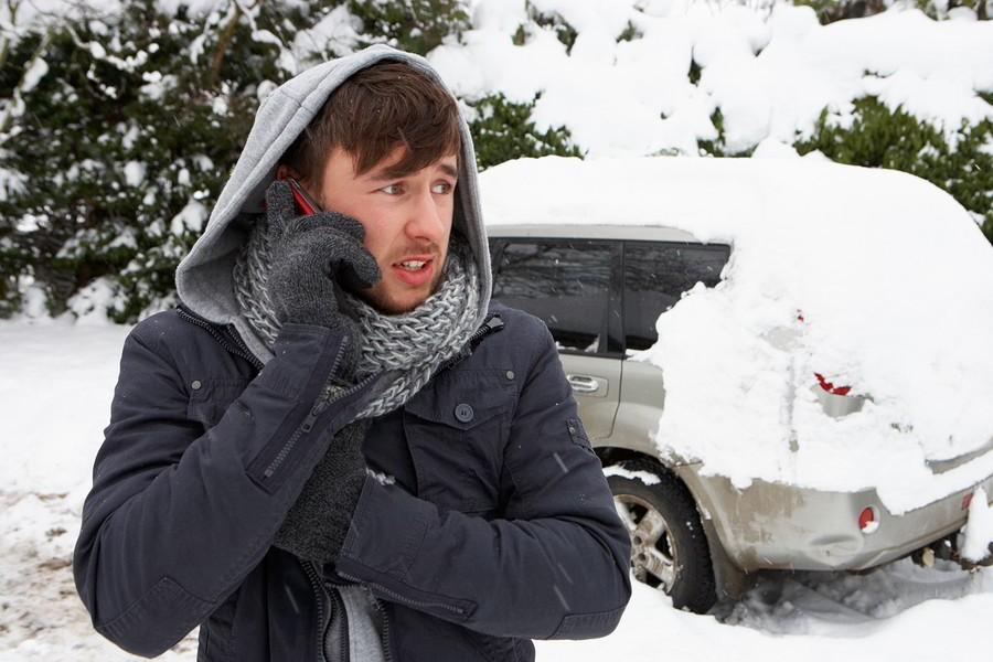 Машина не заводится на морозе